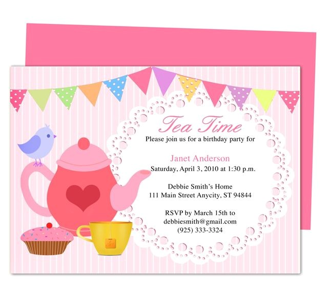 birthday invitation templates for any party