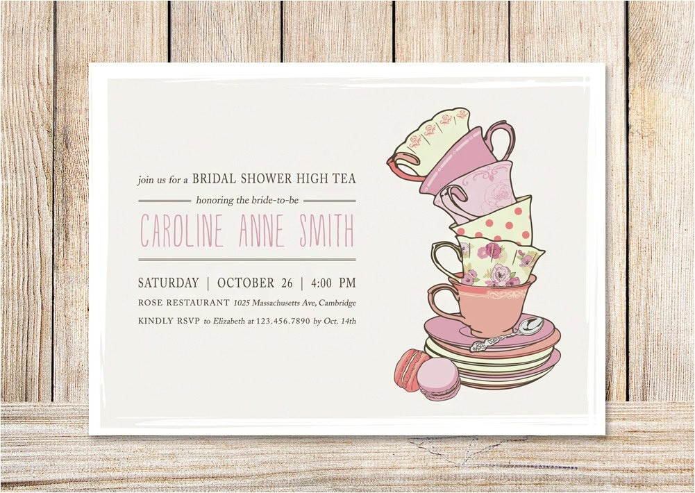 Afternoon Tea Party Invitation Template High Tea Invitation Template Template Resume Builder