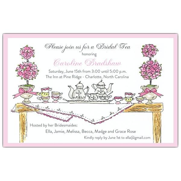 high tea invitations p 622 85 0008ev