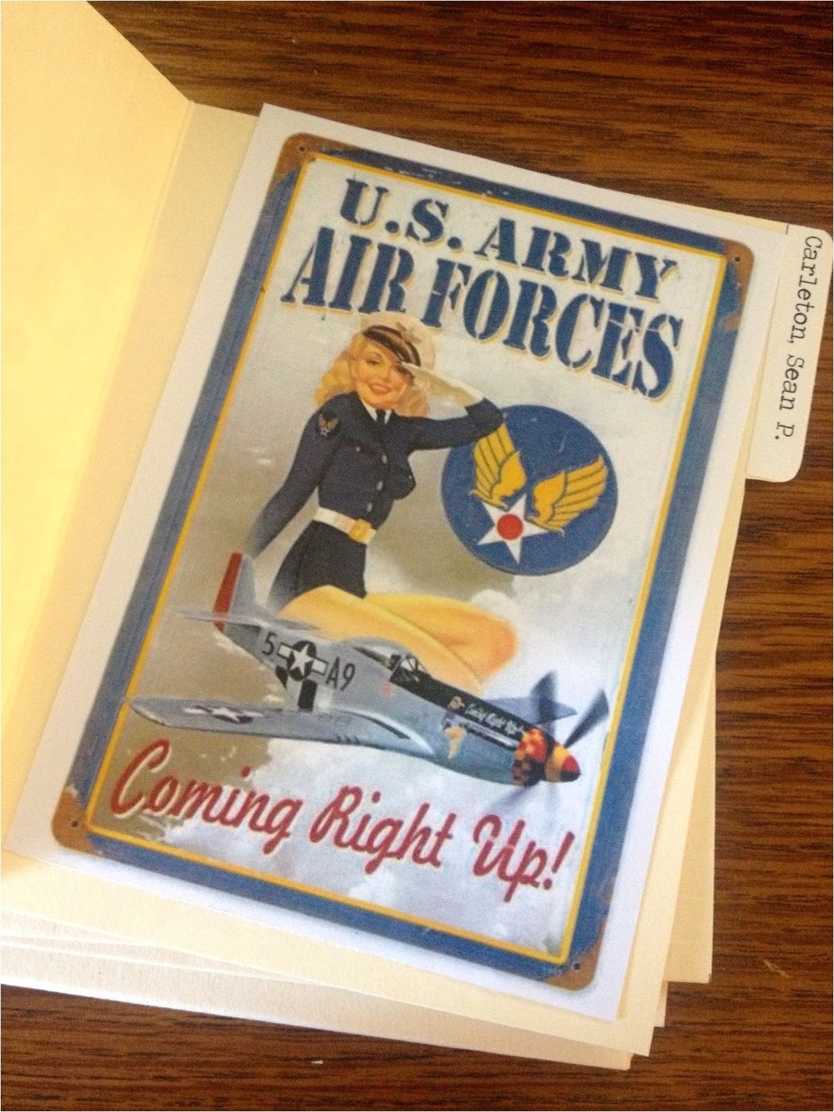 air force going away party invitations