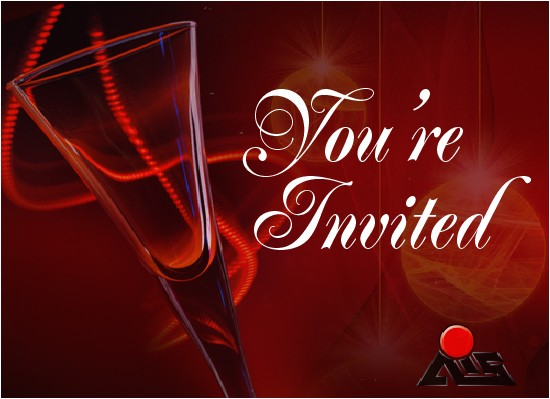 ais animated christmas party invitation 269643564