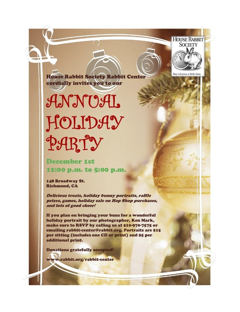post company holiday party template 397121
