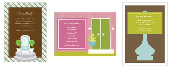 housewarming invitations invitation box