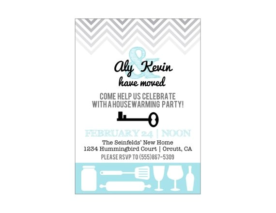 printable housewarming party invitation