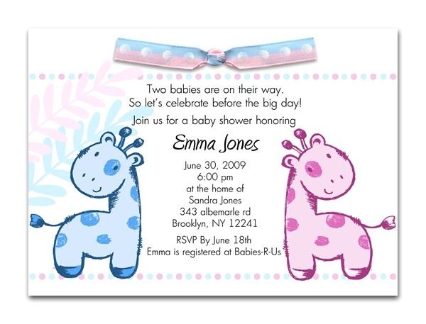 baby shower invitation wording ideas for unknown gender