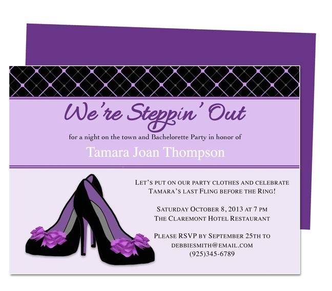 Bachelorette Party Invitation Templates Microsoft 13 Best Microsoft Publisher Images On Pinterest