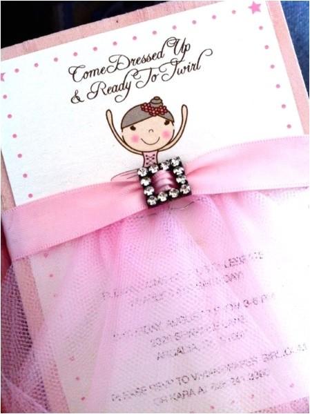 Ballerina Party Invites 60 Diy Ballerina Birthday Party Ideas Pink Lover