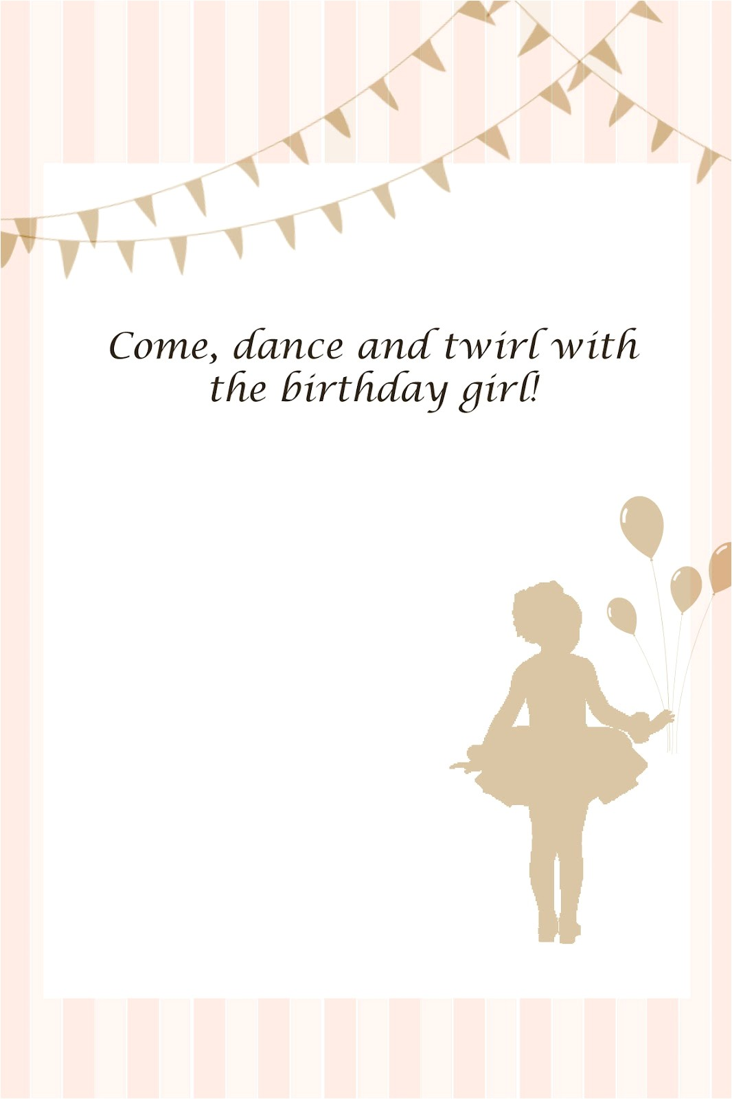 printables from olivias ballerina party