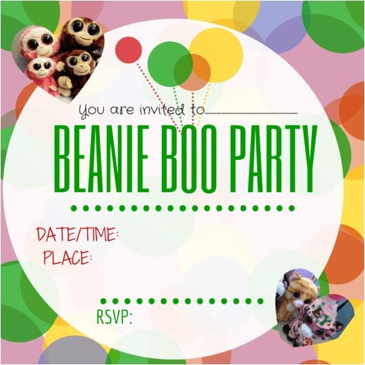 beanie boo party ideas