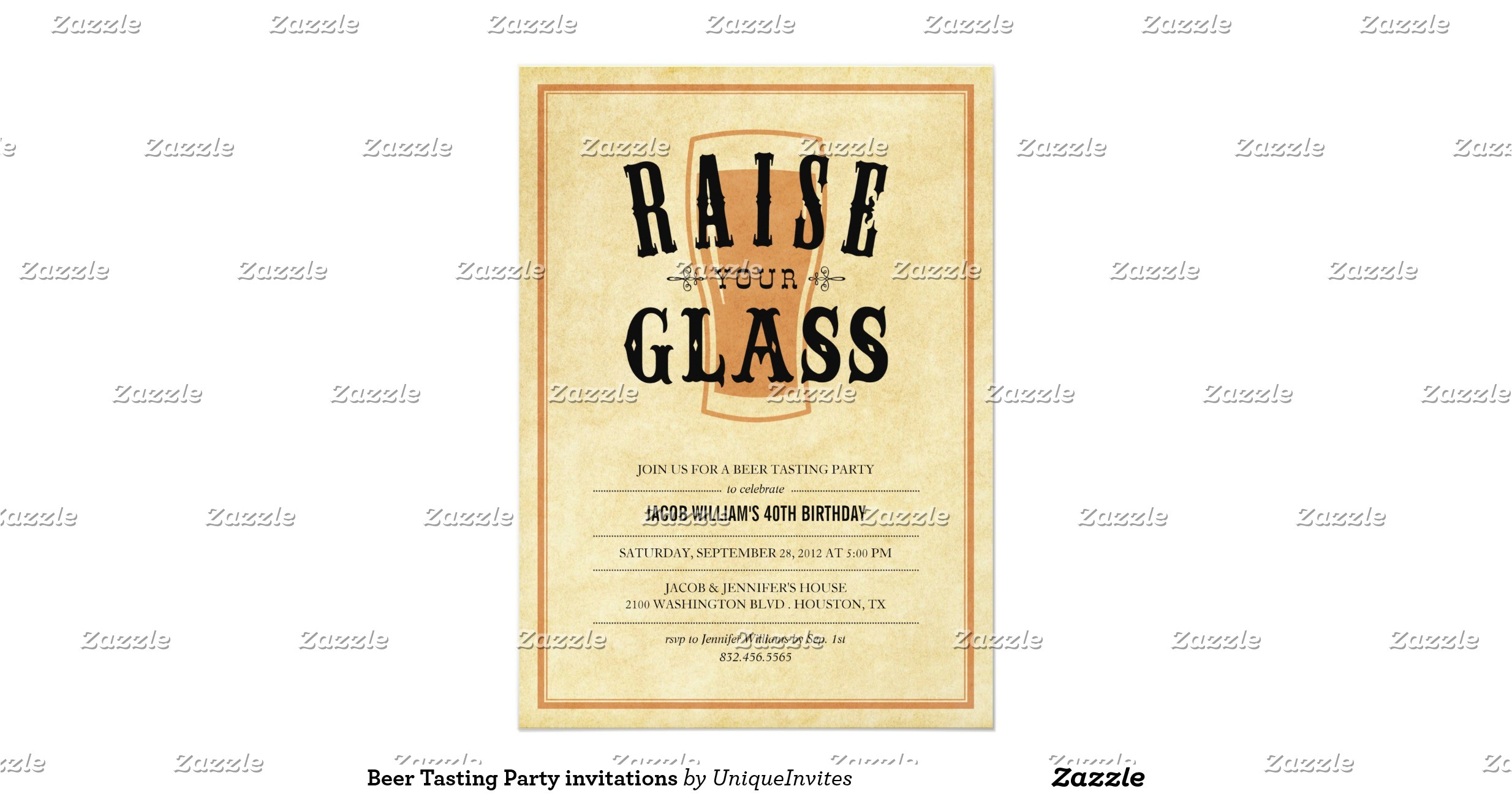 beer tasting party invitations 256475825808711549