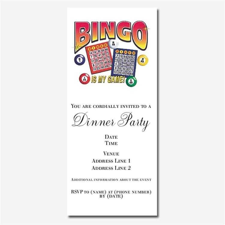 bingo invitations