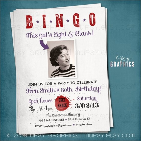 bingo kids eight blank milestone surprise