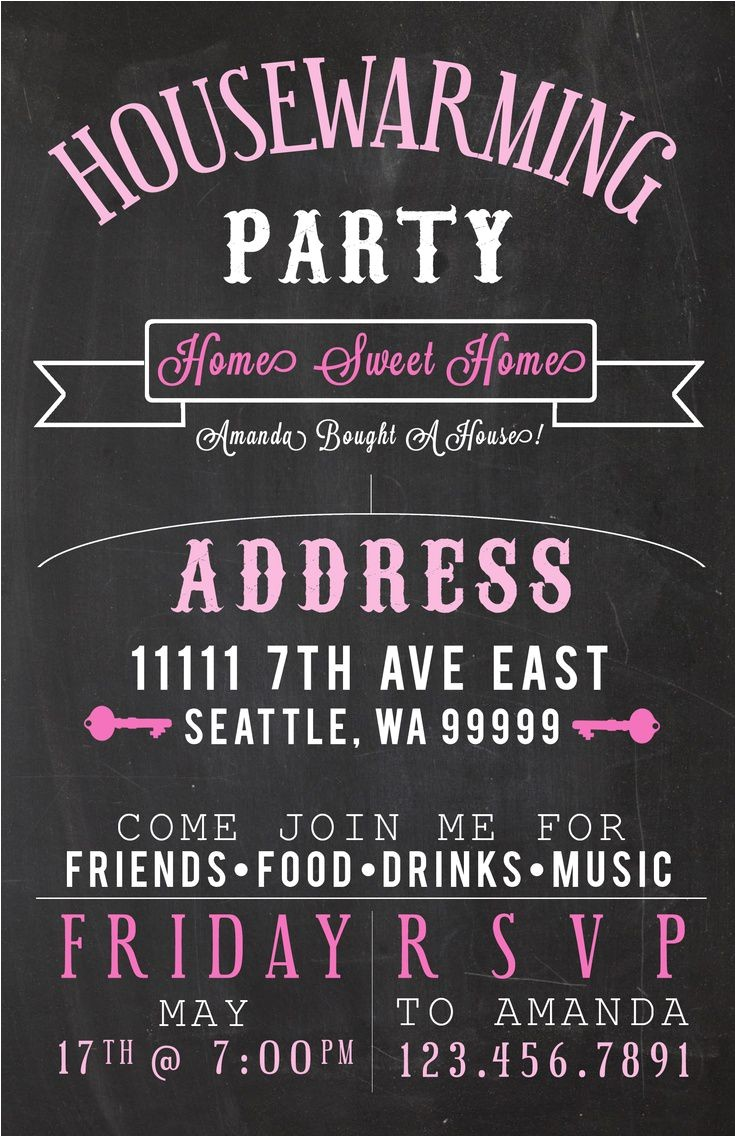 housewarming invitation cards designs