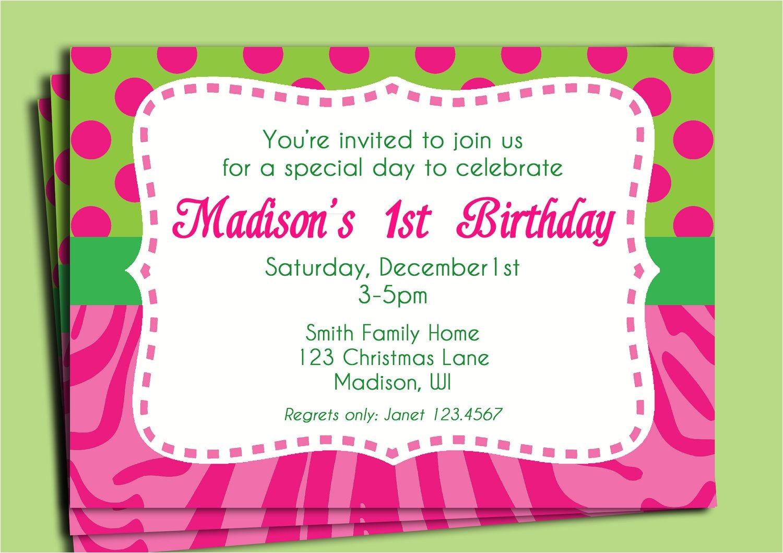 birthday invitation wording for 11 year old