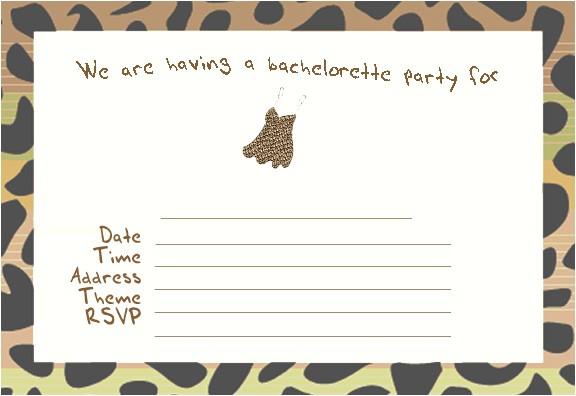 printable bachelorette party