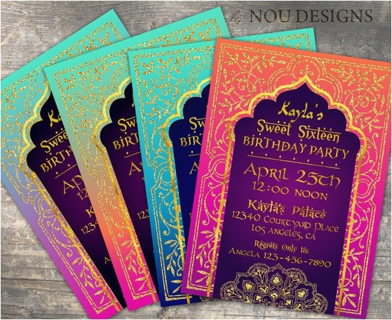 arabian nights bollywood theme birthday