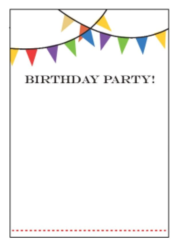 Borders for Party Invitations Free Invite Designs Free Yourweek 6998eeeca25e