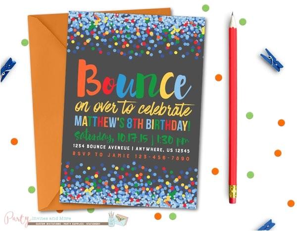 jump birthday invitation bounce birthday invitation bounce house jump invitation bounce invitation trampoline birthday invitation 7528208b bb5f 4ebd ad5f d378af31ae3b