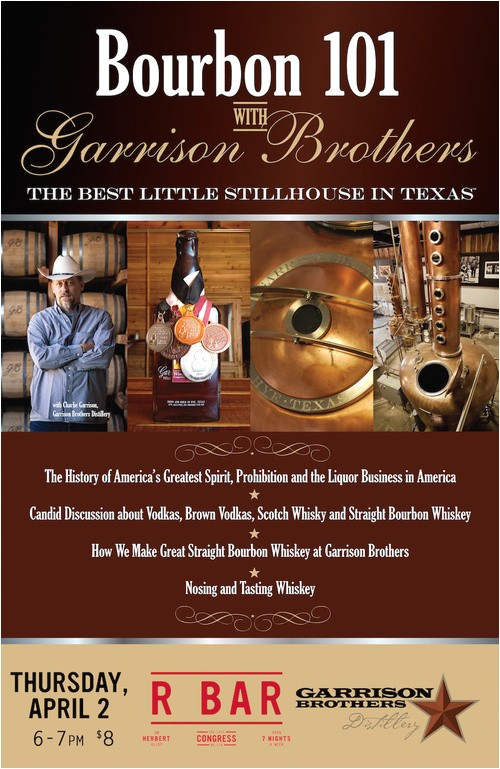 823285 bourbon 101 garrison brothers tucson
