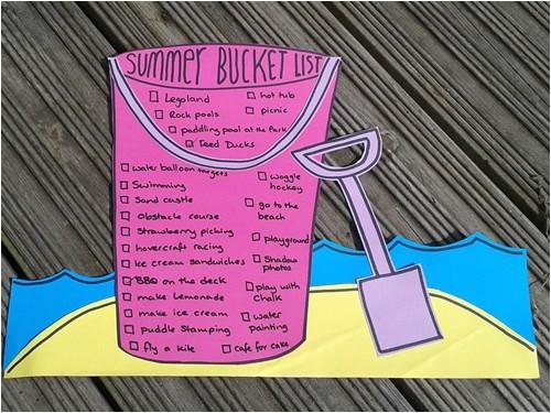 party summer bucket list