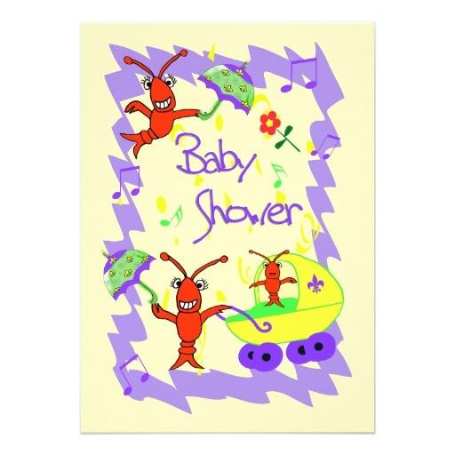 cajun themed baby shower invitation 161632688449432098