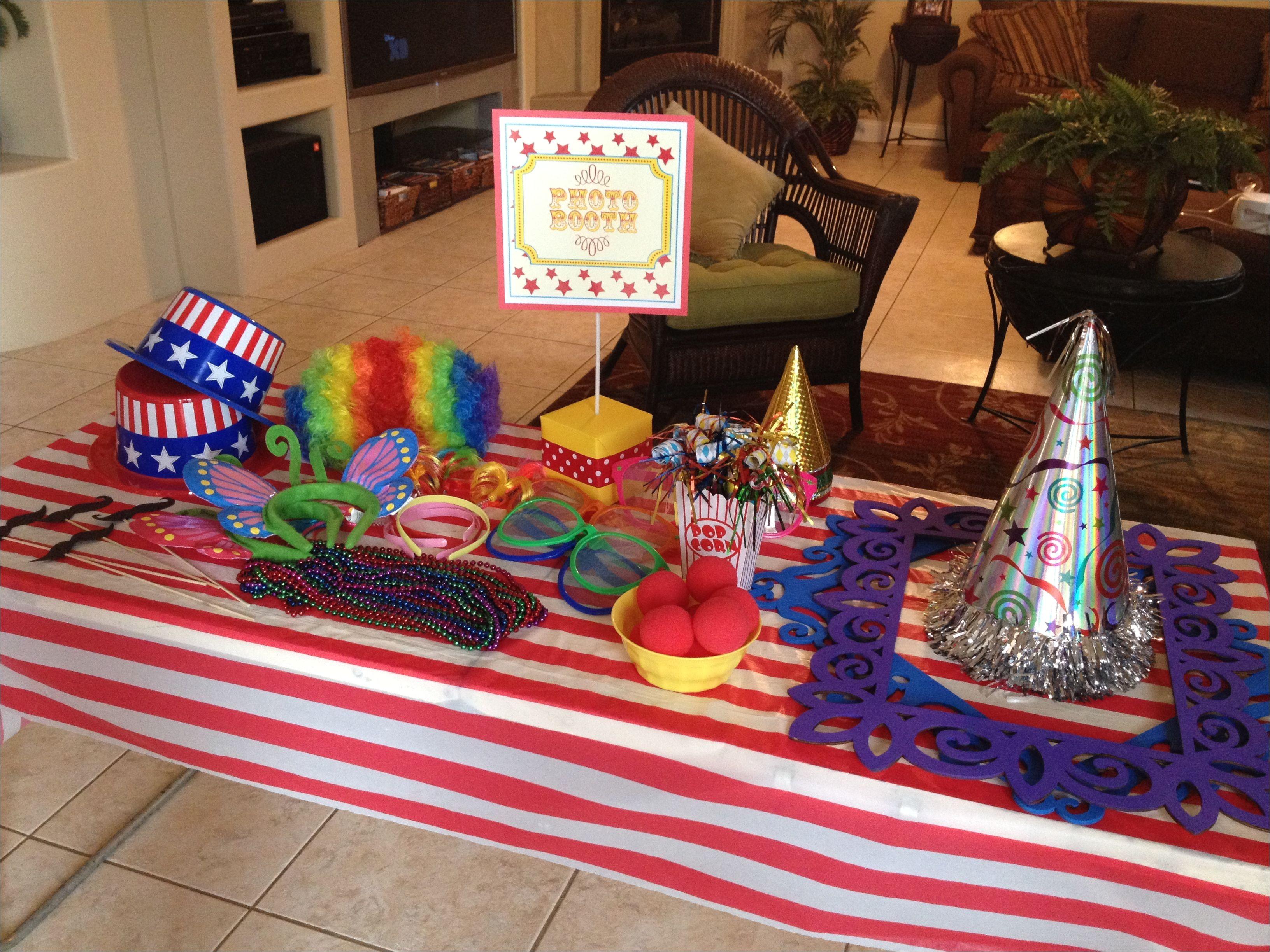 carnival invitations party city