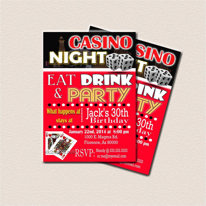 casino theme party surprise birthday