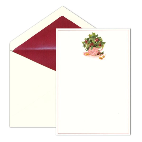 caspari blank christmas tea holiday invitations p 9 85932 blank