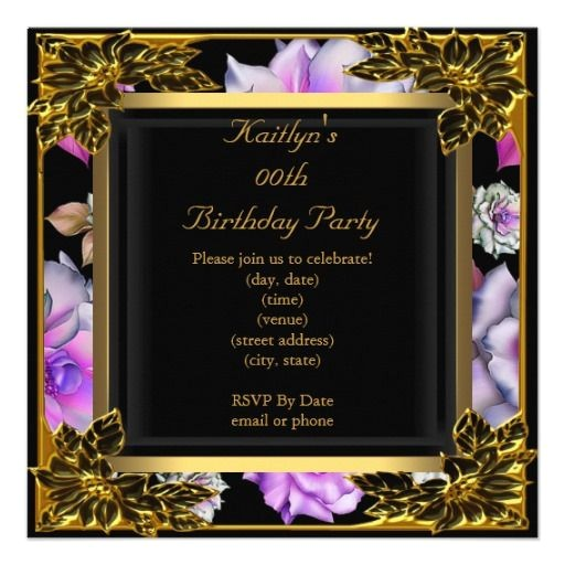 cheap 70th birthday invitations