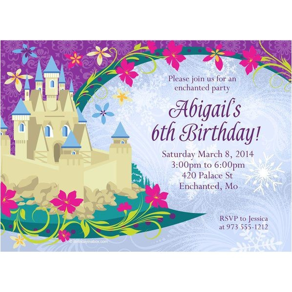 frozen personalized invitation each