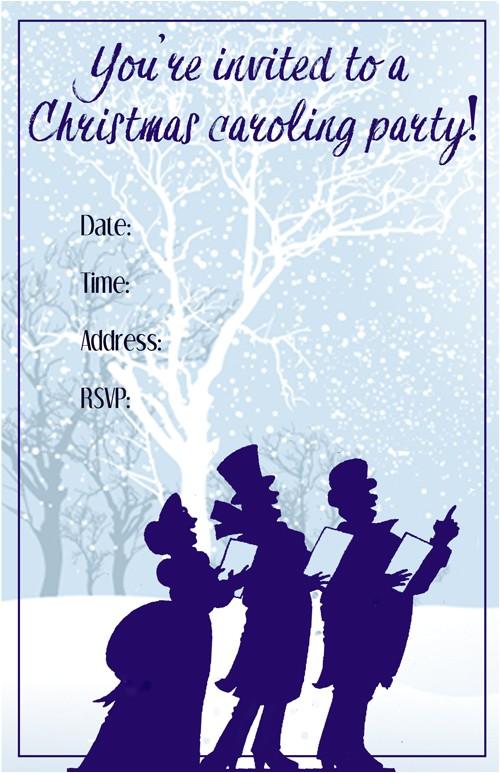 organizing best christmas caroling party