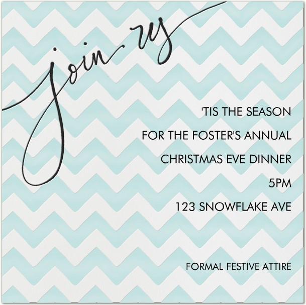 christmas eve invitations
