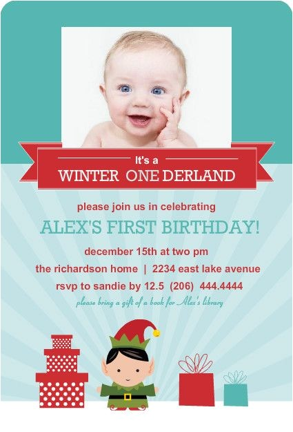 holiday first birthday party ideas
