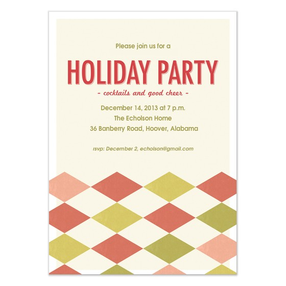 holiday party invitation for outlook