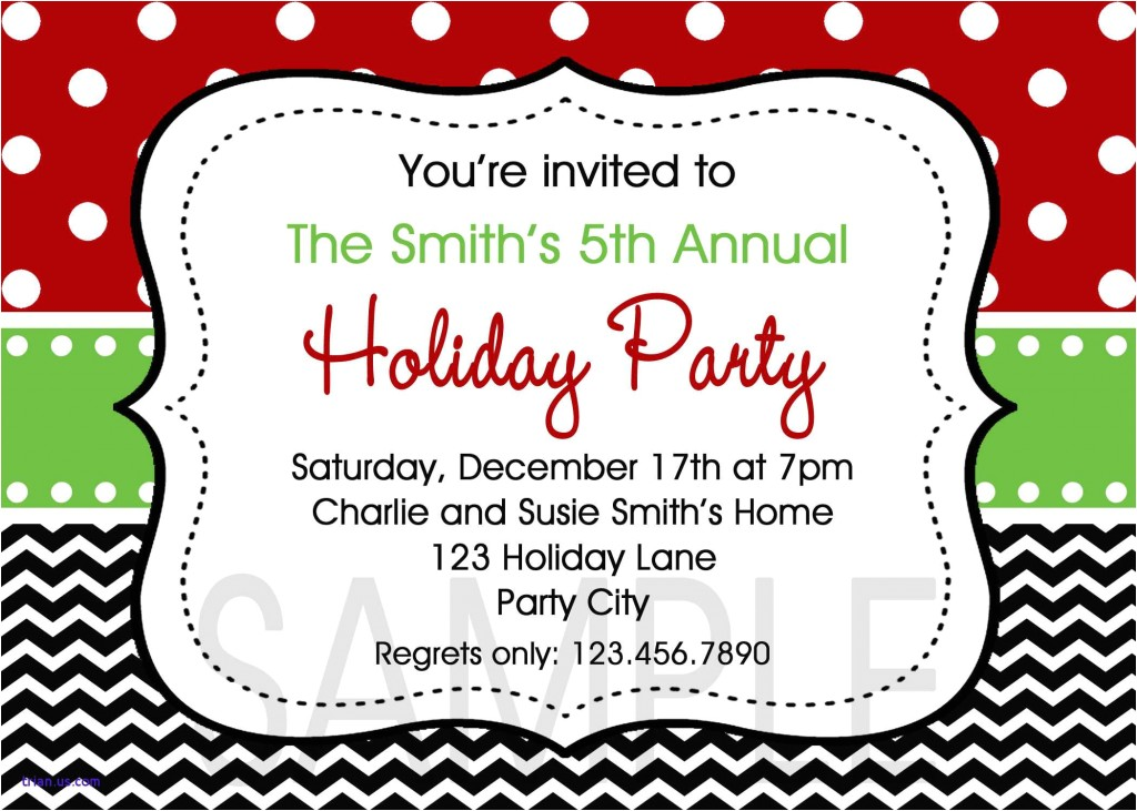 holiday party template outlook