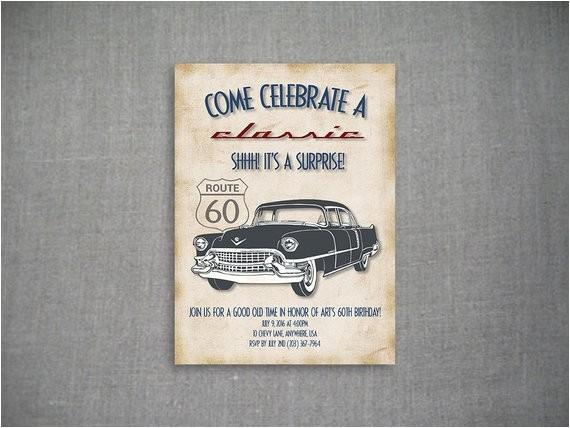 come celebrate a classic 5x7 birthday