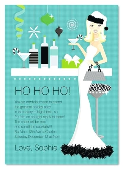 funny christmas invites