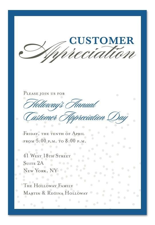 sample appreciation luncheon invitation