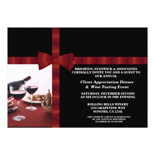 wording for customer appreciation invitations