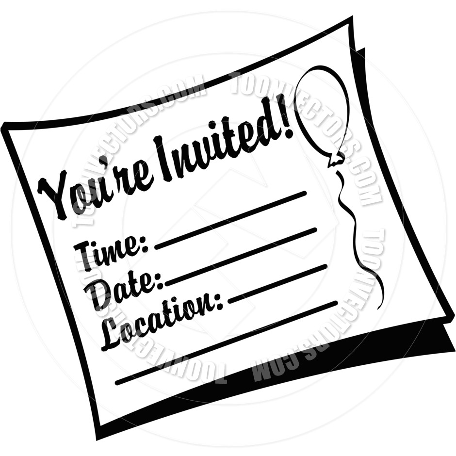 invitation clip art borders free