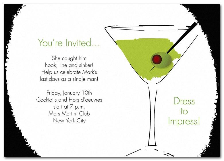 wedding invitation wording cocktail
