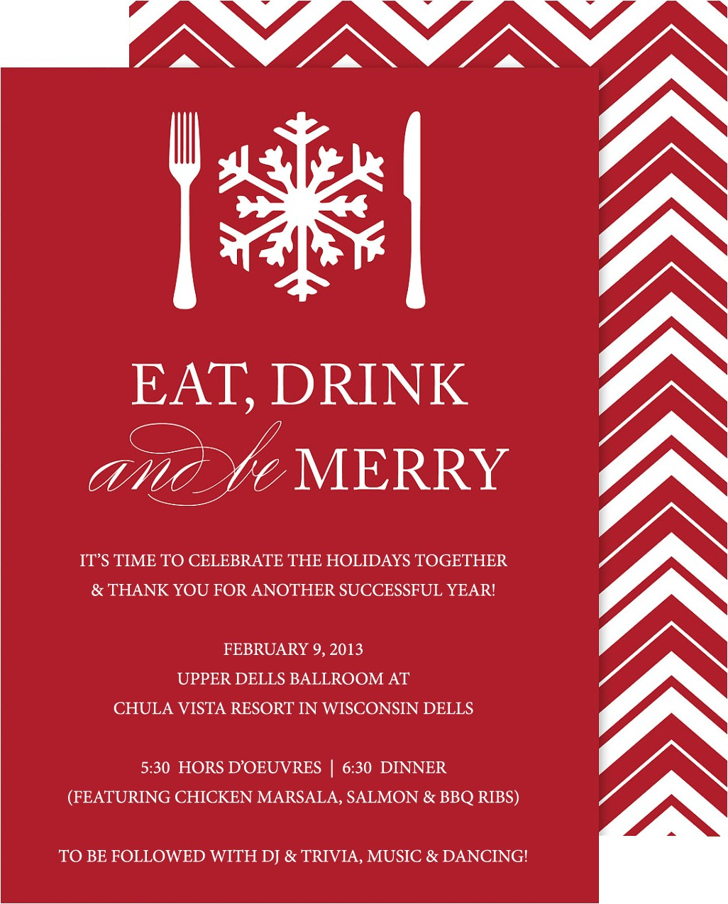 company holiday party invitations