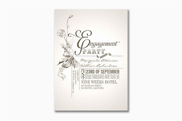 read more unique vintage engagement party invitations