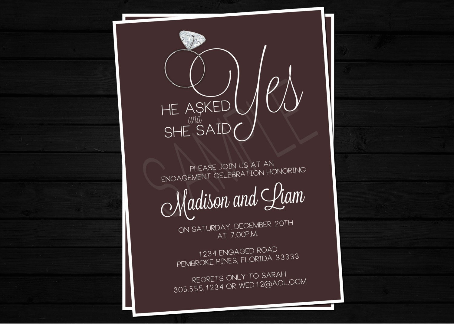 tips for choosing engagement party invites