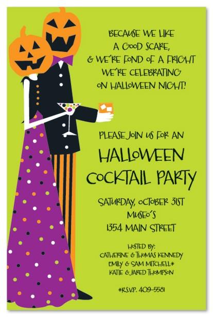 halloween costume party invitation wording
