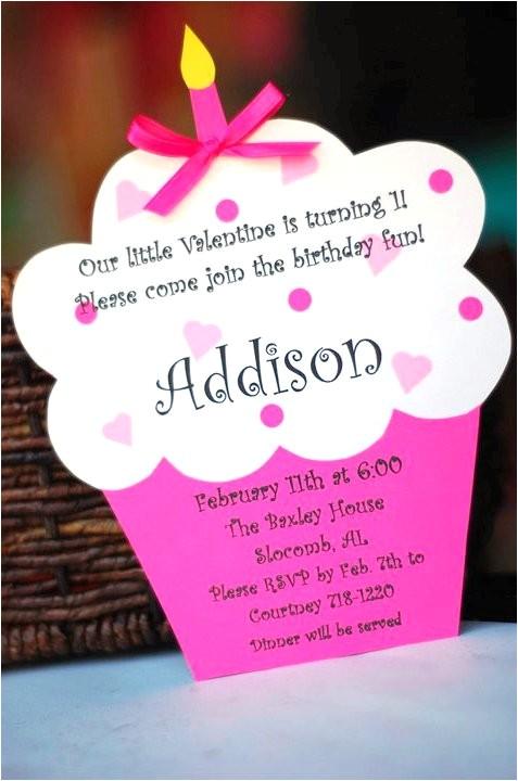 custom valentine birthday invitations