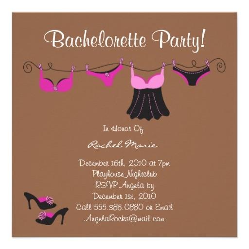 cute bachelorette party invitations 161627717753171155