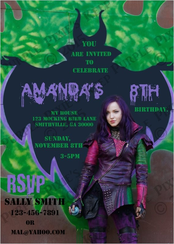 disney descendants birthday party