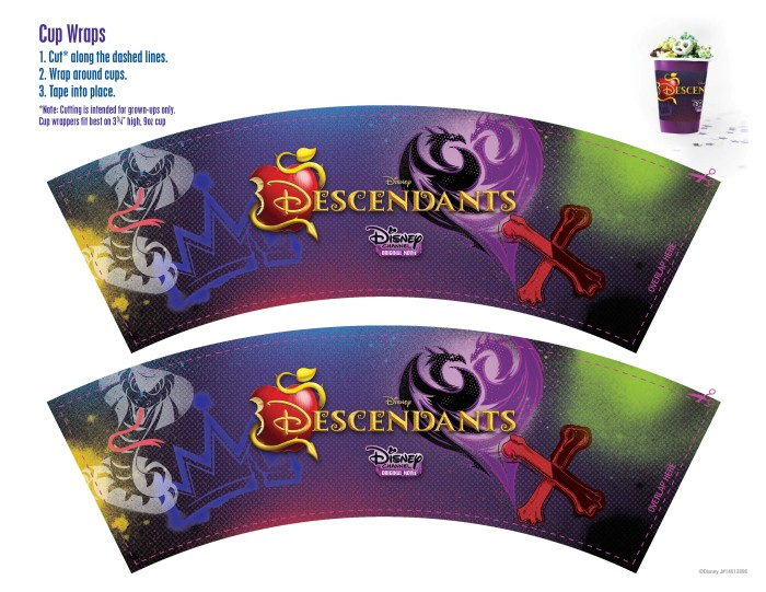 disney descendants party ideas