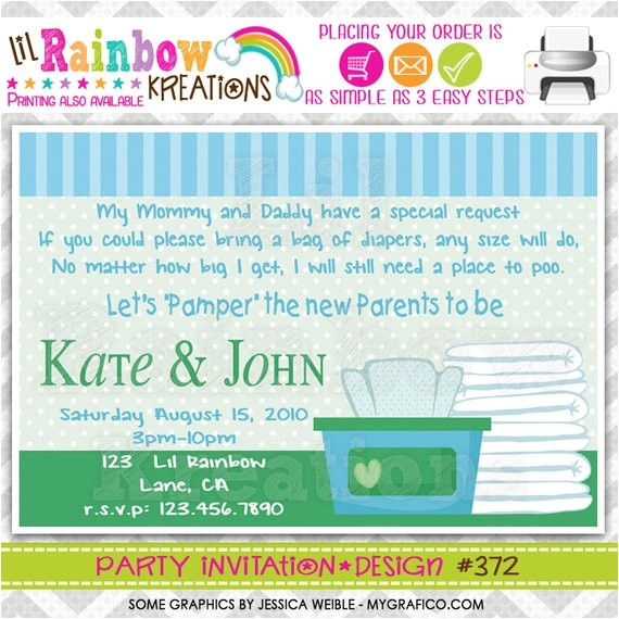 372 diy diapers and wipes party